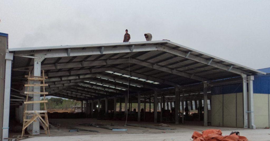 làm mái tôn nhà xưởng